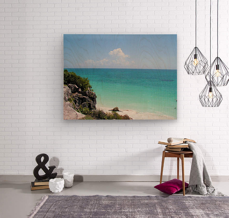 Tropical8  Wood print