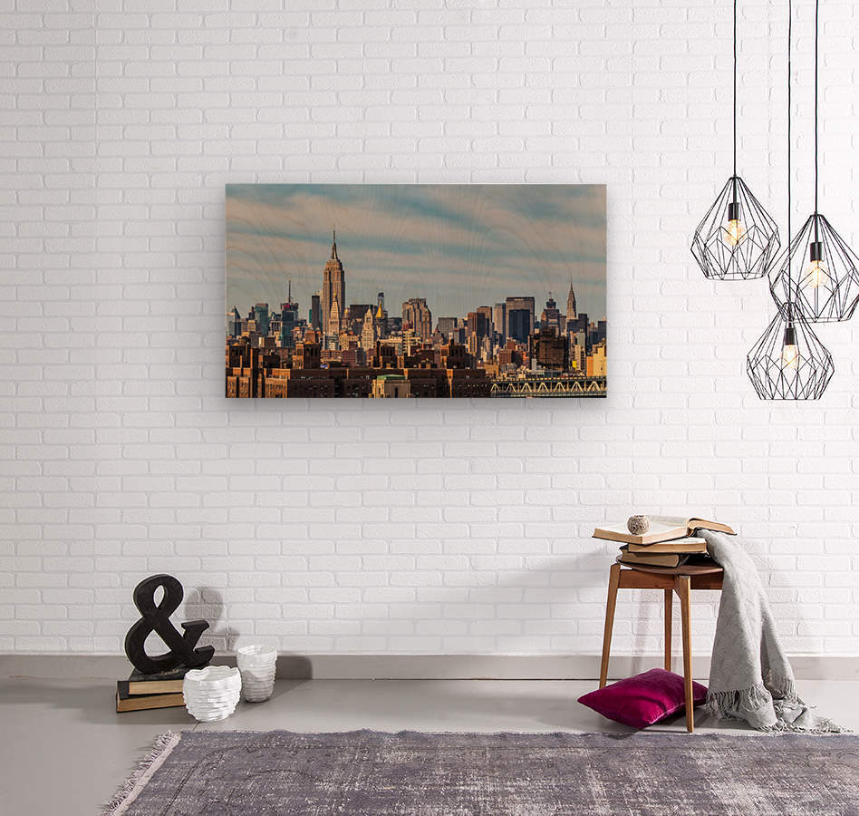 NEW YORK CITY 21  Wood print
