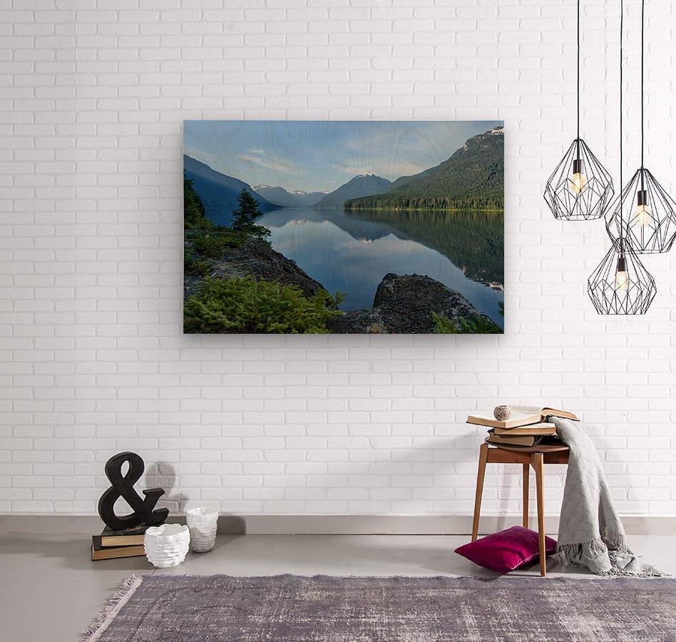 Strathcona calm  Wood print