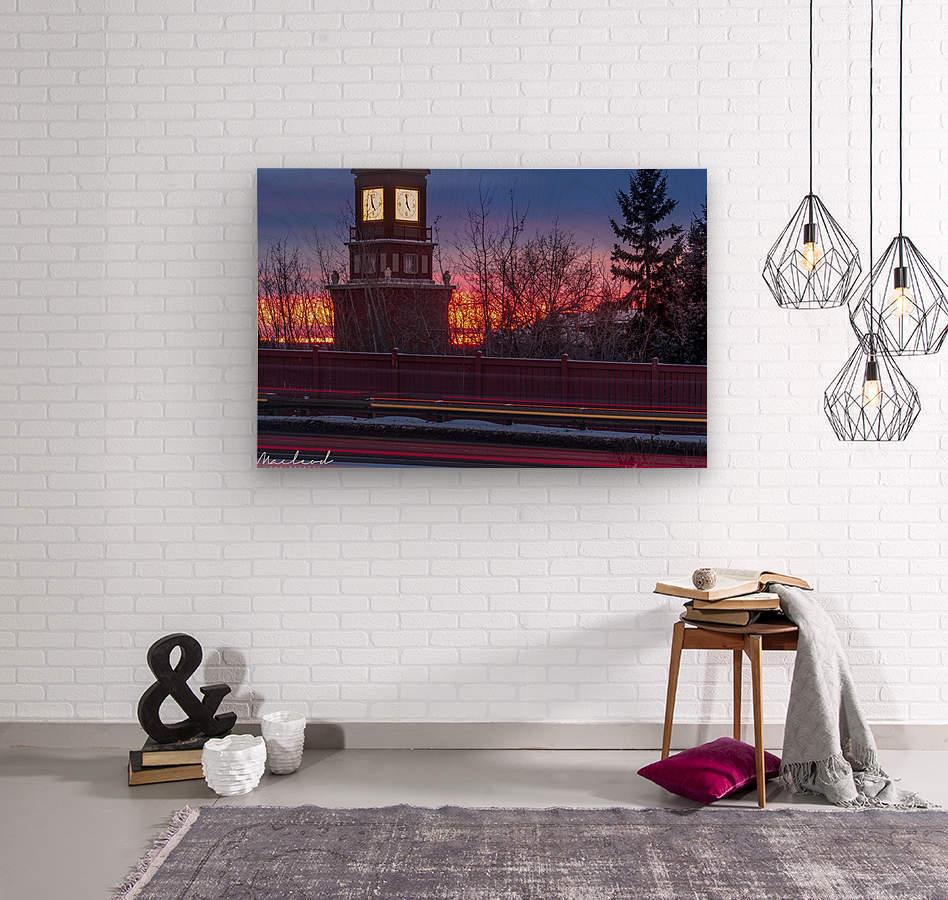 StAlbertTrail_StAlbertClock_Jan18_IMG_6032  Wood print