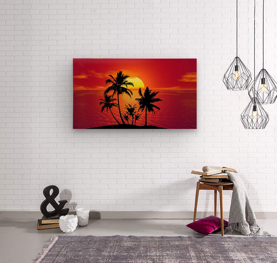 tropical 1651423  Wood print