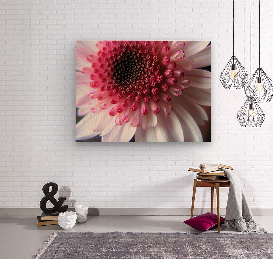 Floral Delicacy  Wood print
