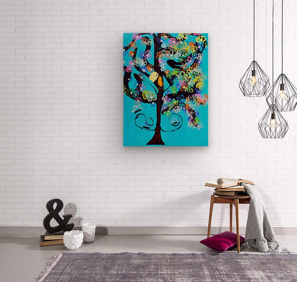 Free Spirit Tree. Molly H  Wood print