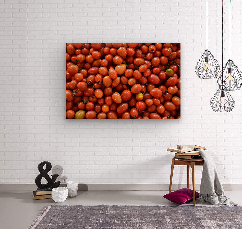 Food - Fruits - 004  Wood print