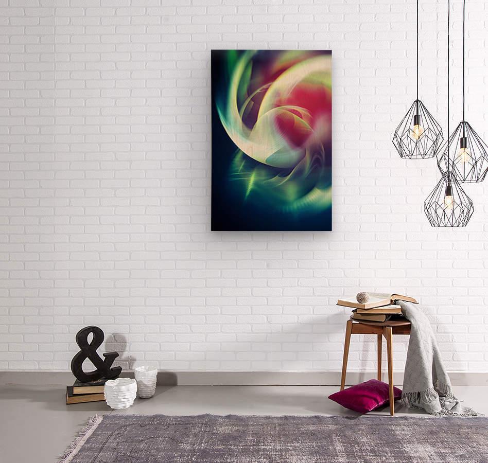 Abstract Art XIII  Wood print
