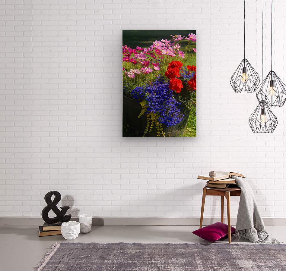 Alaskan Bouquet  Wood print