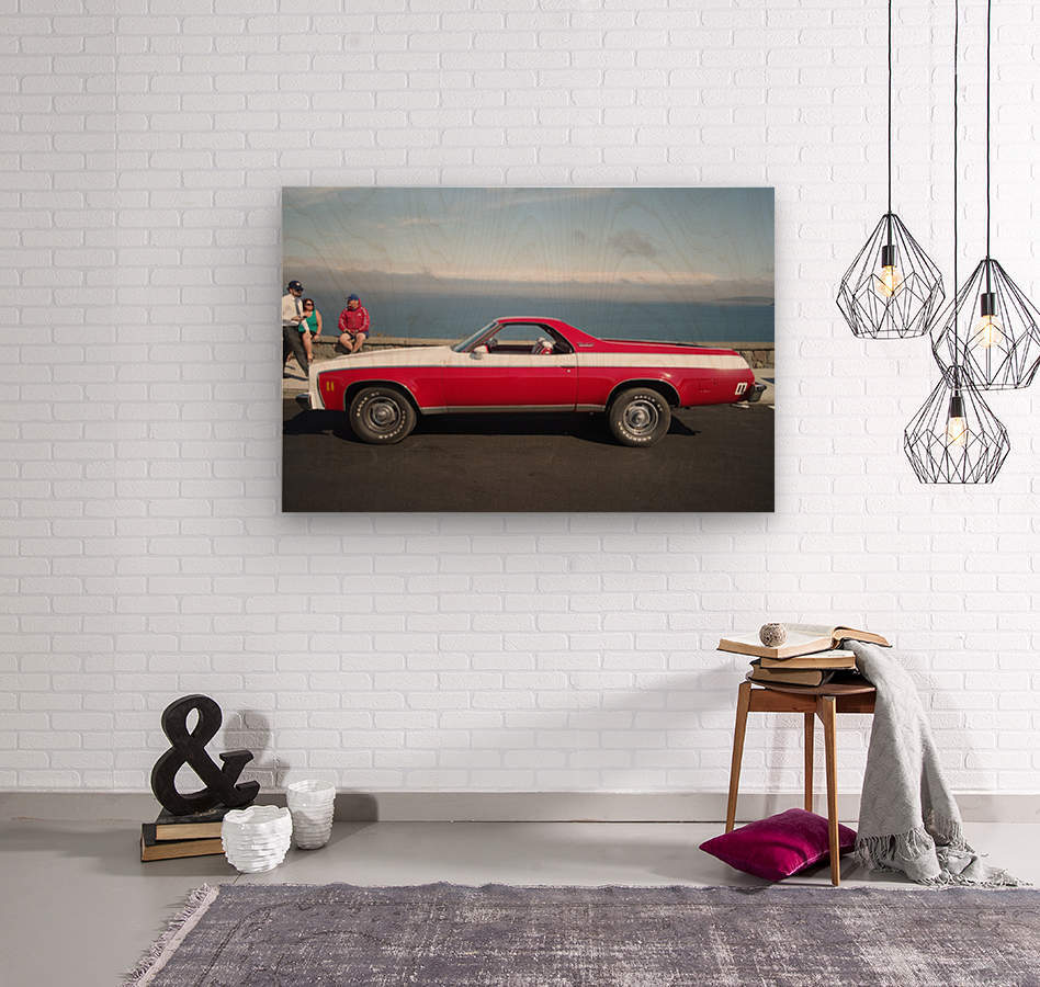 GMC Sprint Utility Pickup coupe combo  Wood print