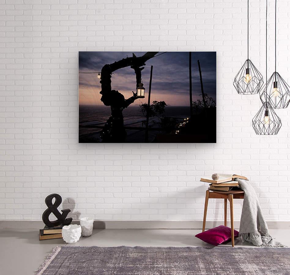 Lanterne de Lima  Wood print