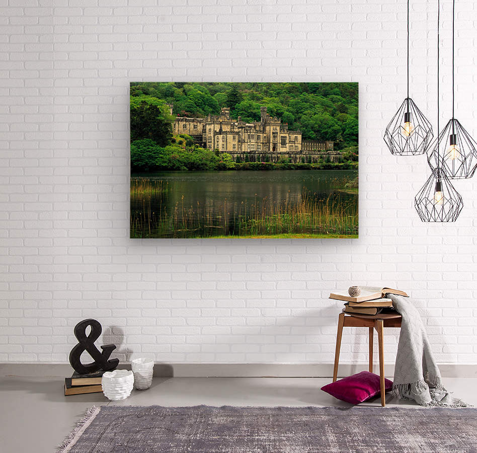 G 021 Kylemore Abbey  Wood print