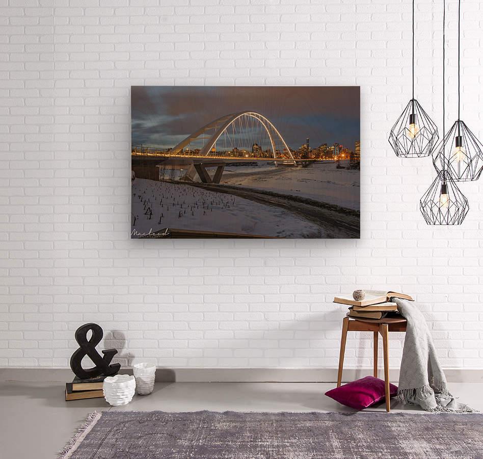 Walterdale_Bridge_NIK9890  Wood print
