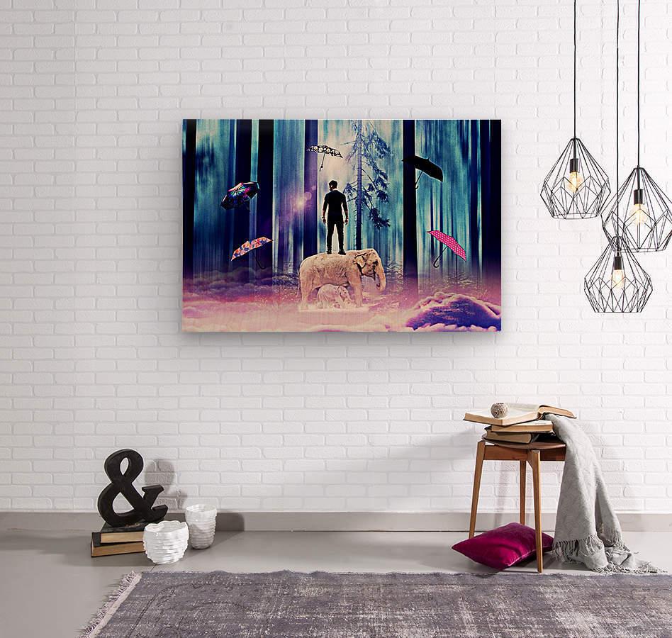 20  Wood print