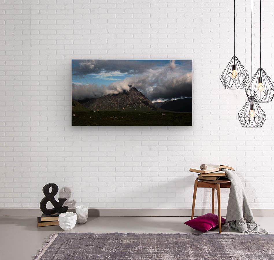 Glen Etive   Wood print