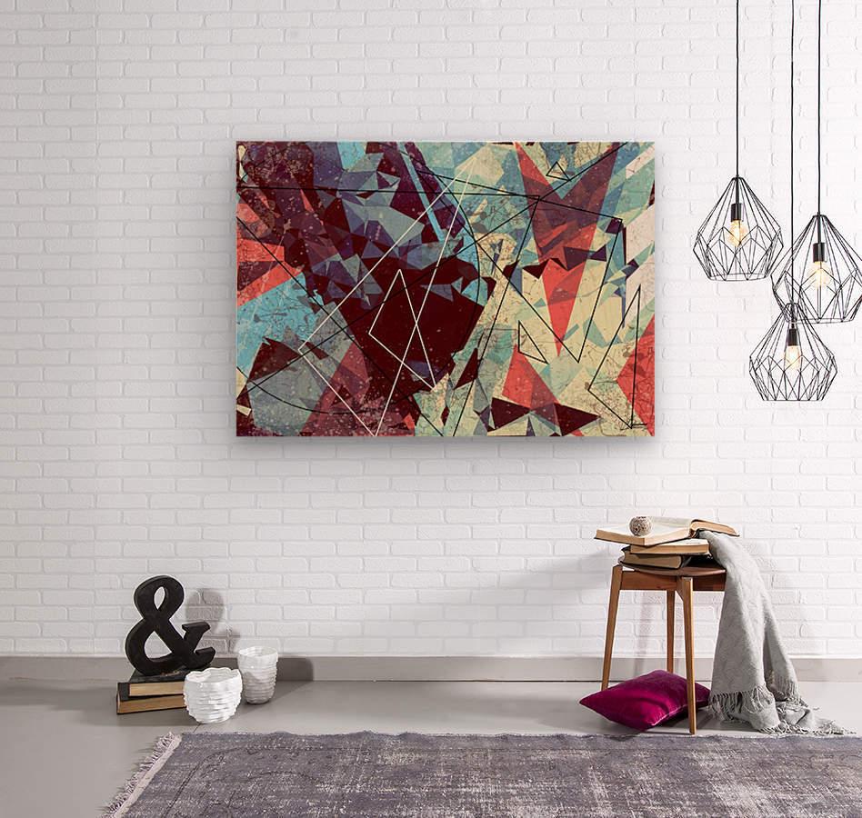 SAK29  Wood print