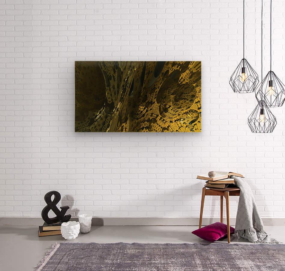 New World  Wood print