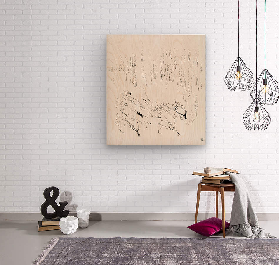 Northern  Wood print