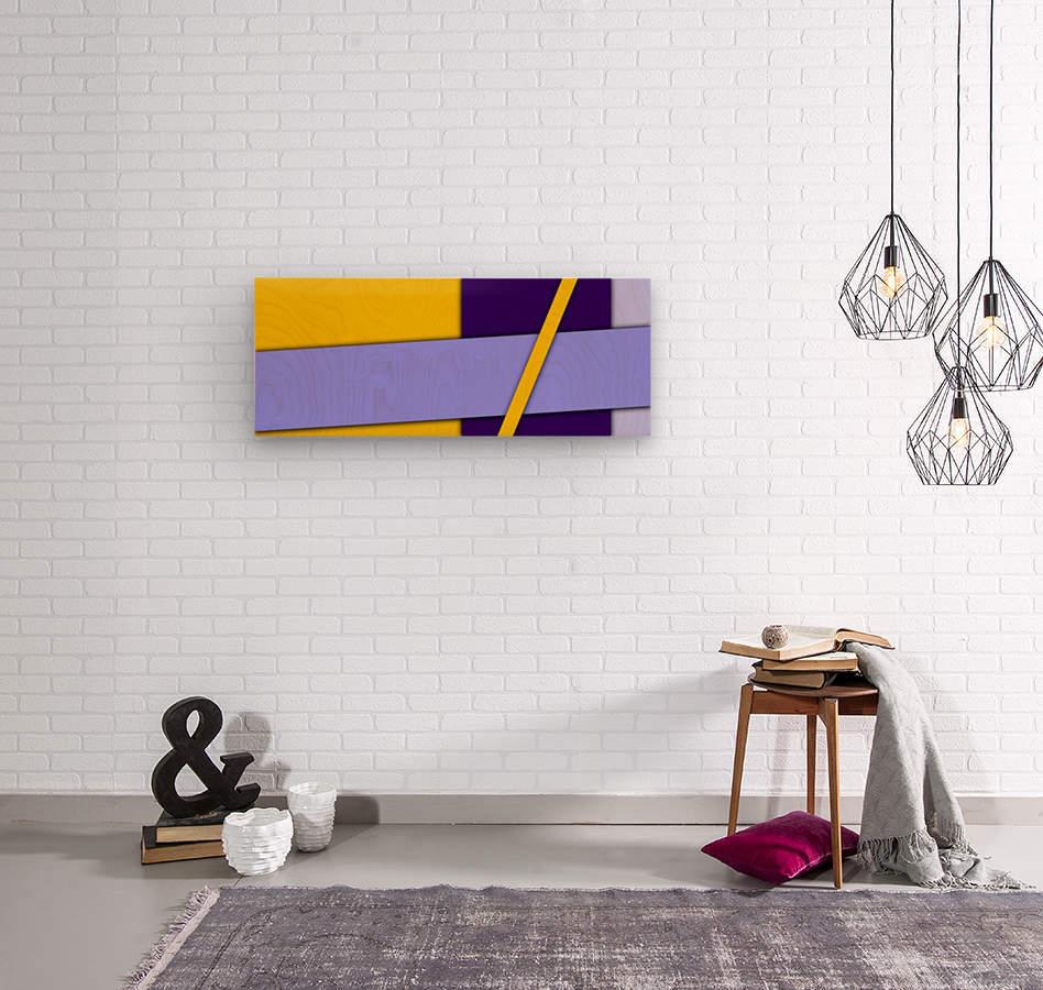 cool abstract (5)  Wood print