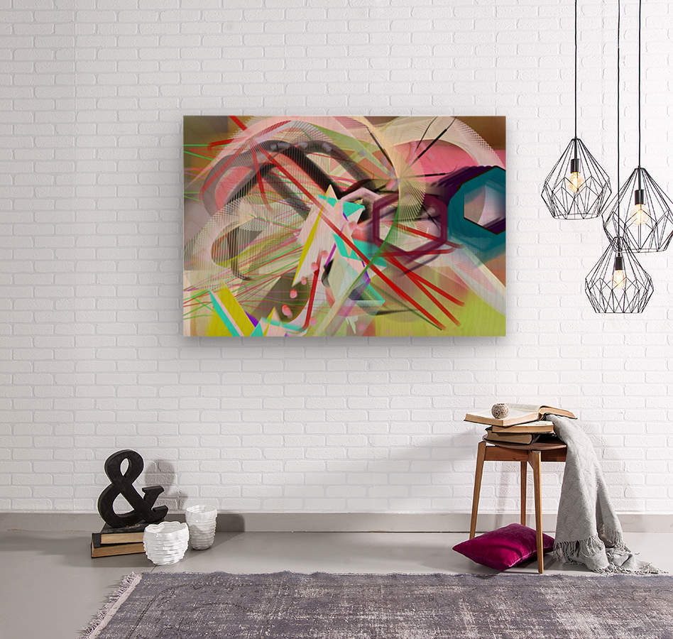 New Popular Beautiful Patterns Cool Design Best Abstract Art (2)  Wood print