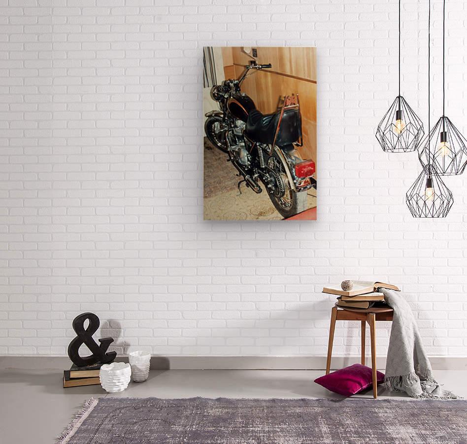 Triumph Tiger  Wood print