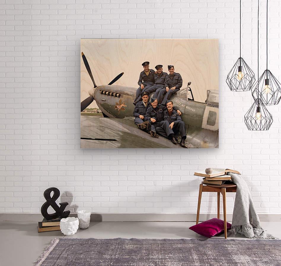 416 Squadron RCAF  Wood print
