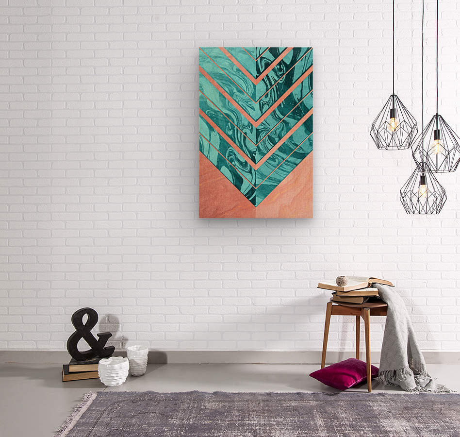 Geometric XXXXVI  Wood print