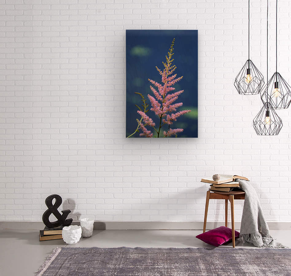Pink Floral Dow Gardens 2 062718  Wood print