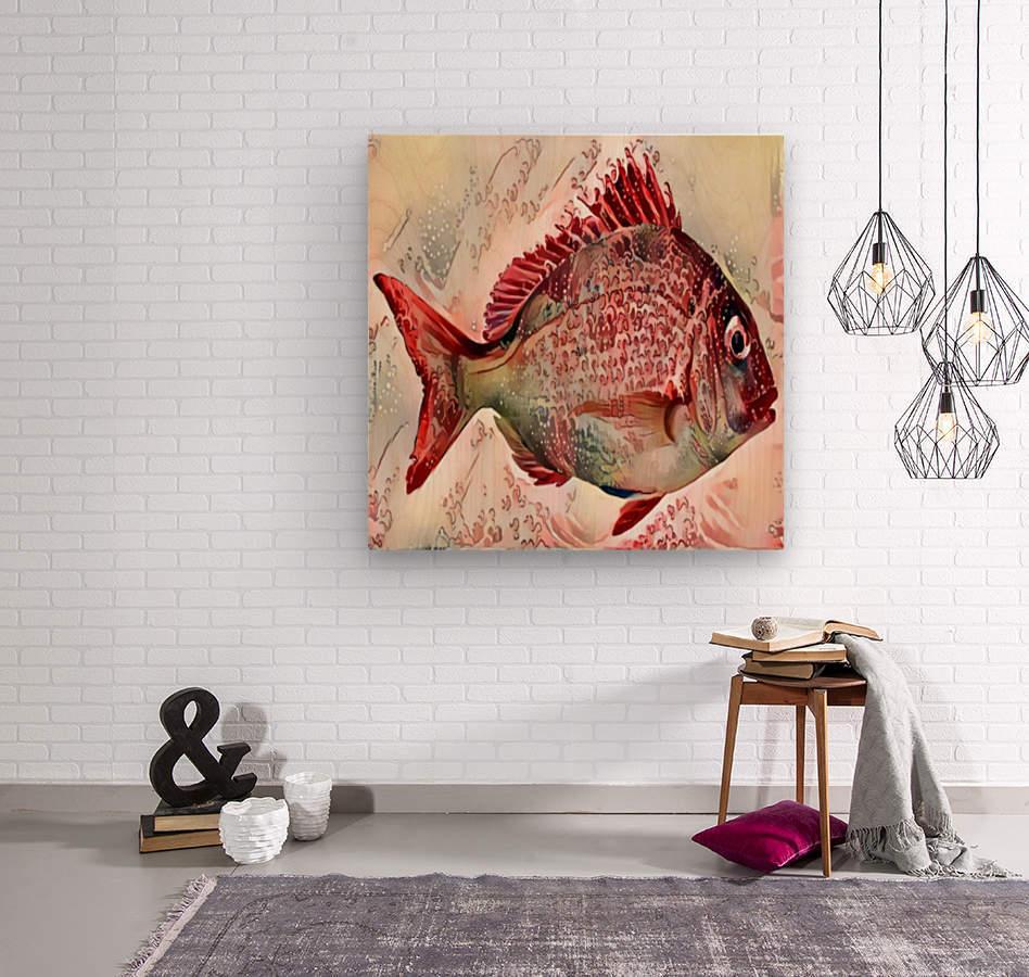 Ocean Art  Wood print