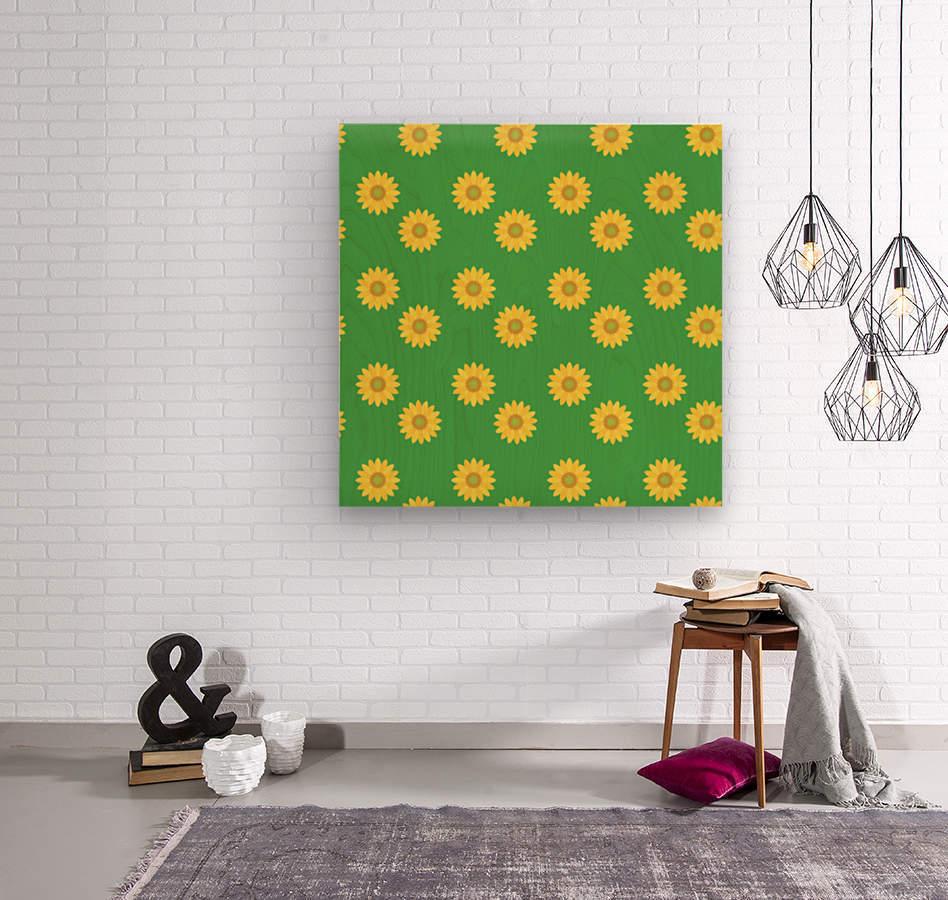 Sunflower (38)_1559876251.973  Wood print