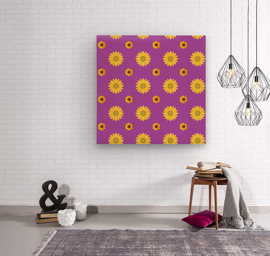 Sunflower (7)_1559876736.0367  Wood print