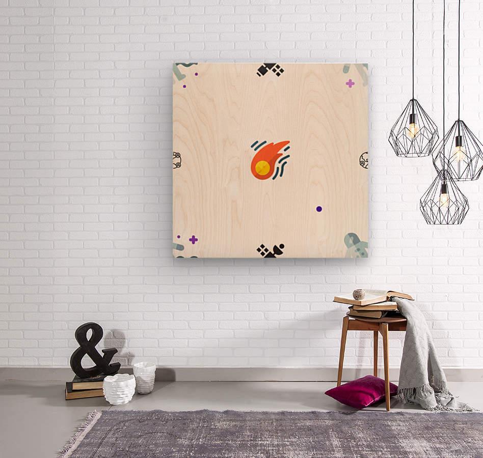 Space (18)  Wood print