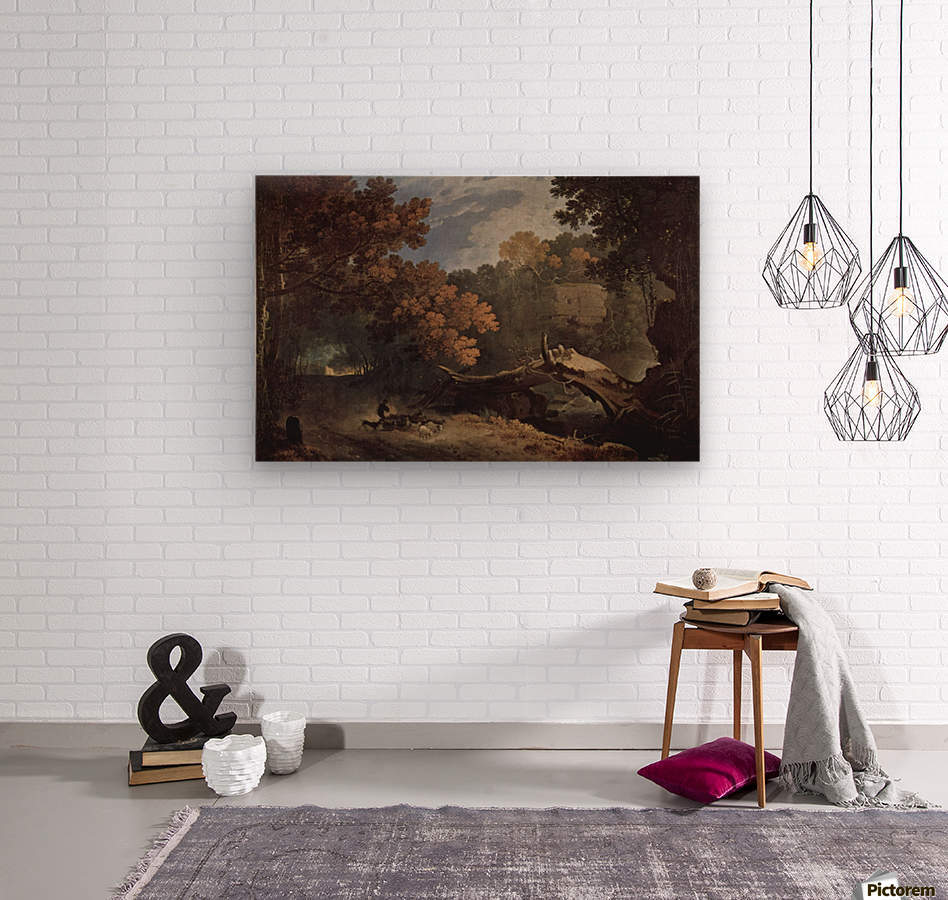 Ariccia Wilton  Impression sur bois
