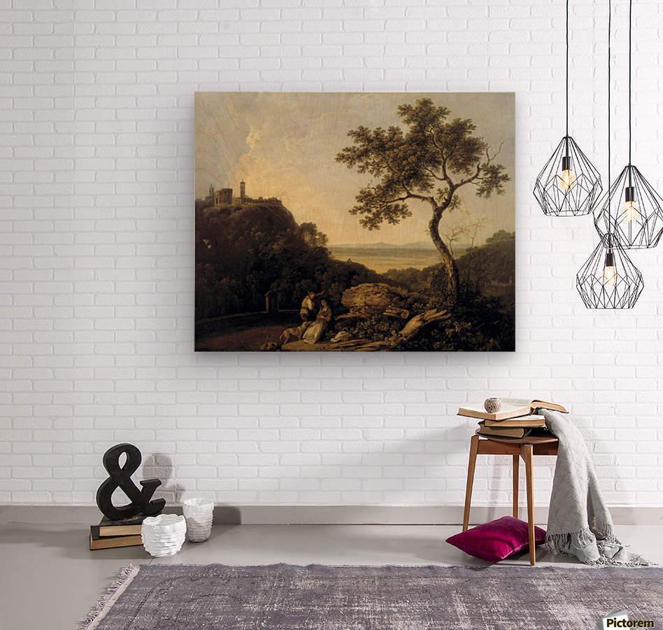 Hadrain's Villa  Wood print