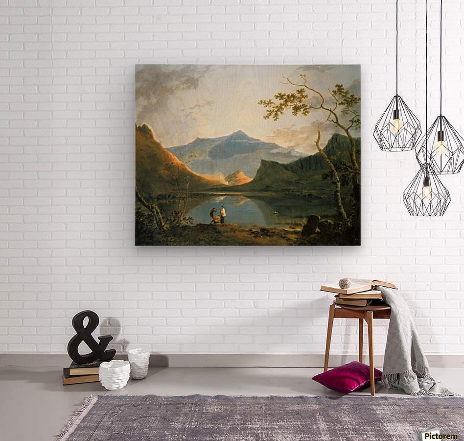 View of Snowdon  Wood print