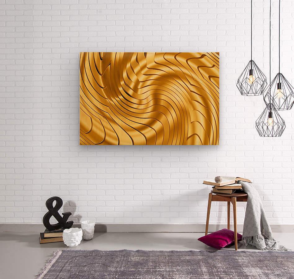 Goldie X v2.0  Wood print