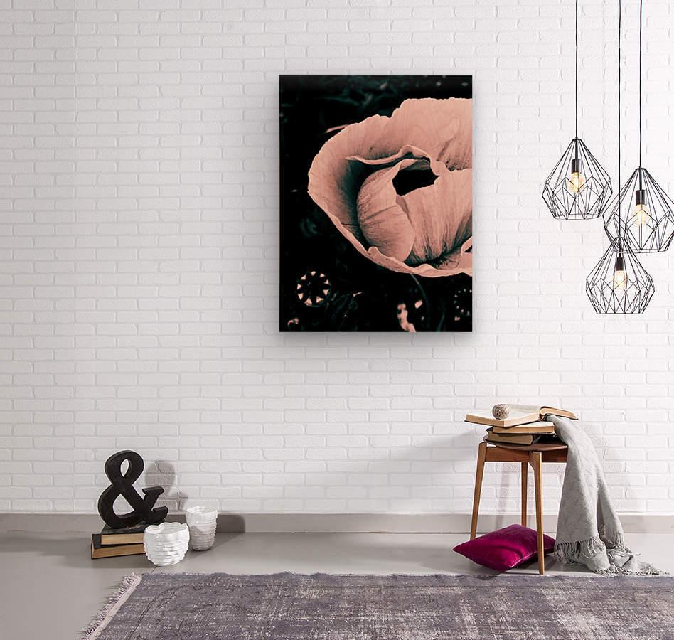 My color is pink   Impression sur bois