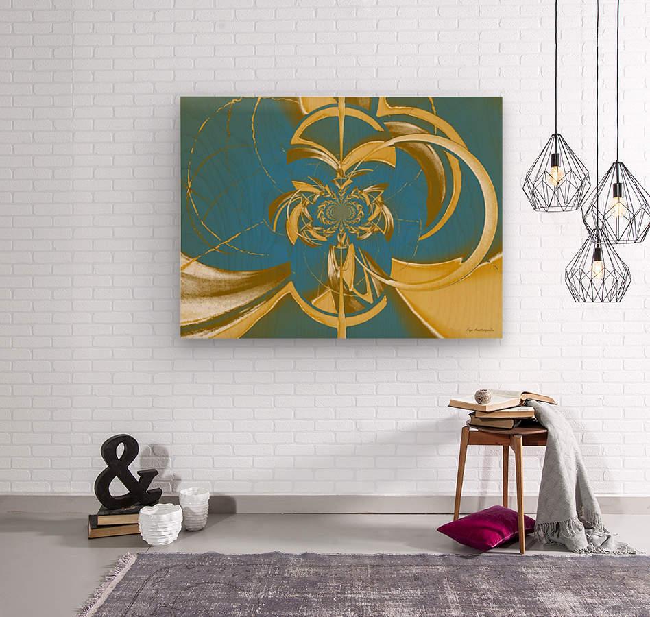 Classic Royal Design  Wood print
