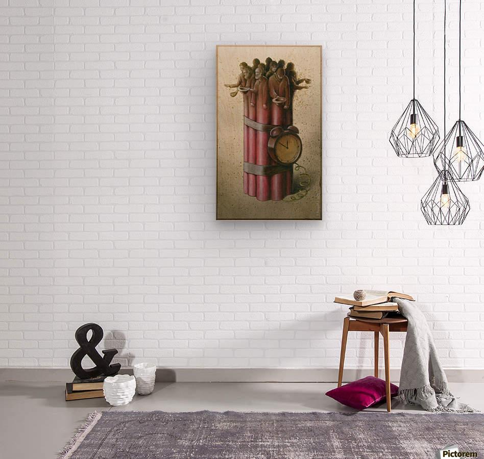 Pawel Kuczynski 22  Wood print