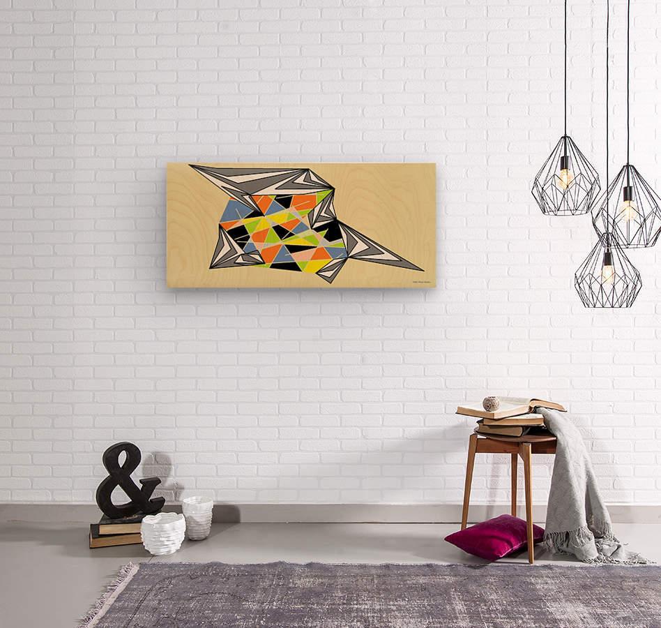 Starship  Wood print
