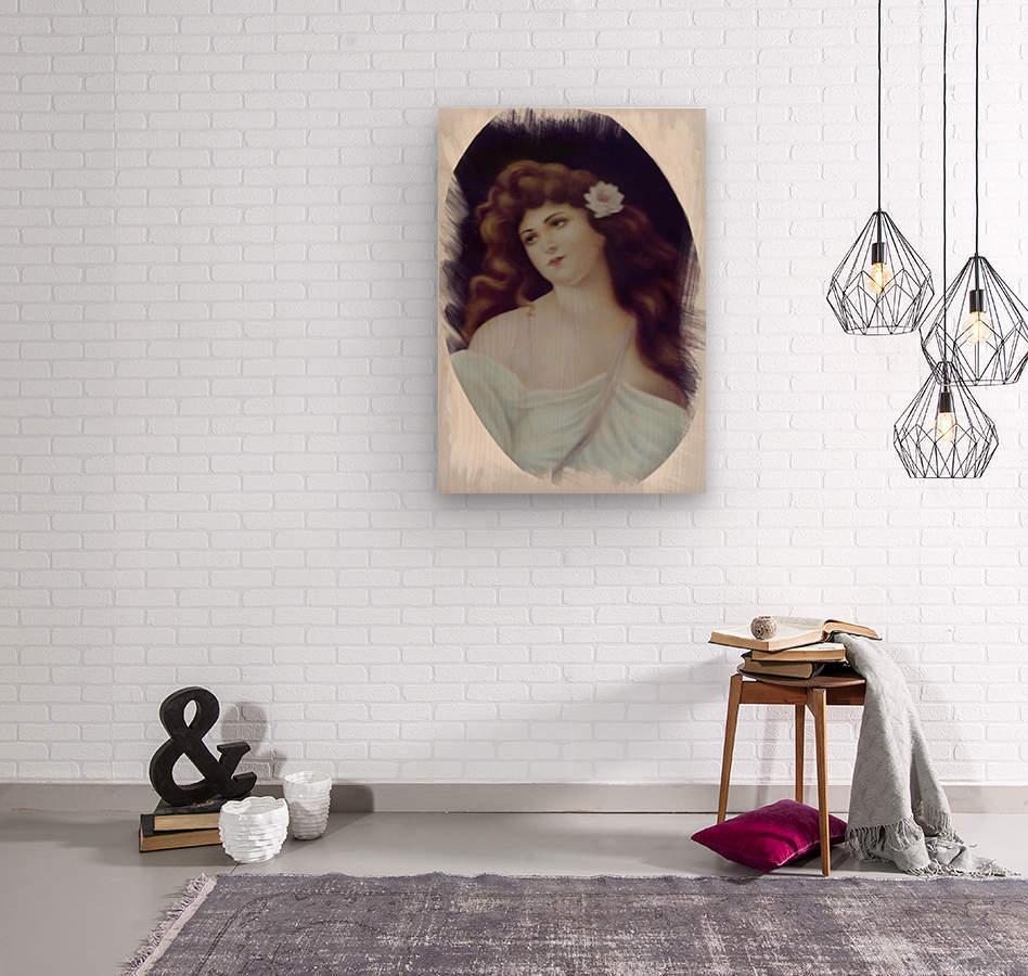 Titian Beauty  Wood print