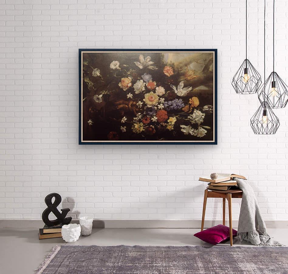 Howard010_Fotor floral1 copy  Wood print