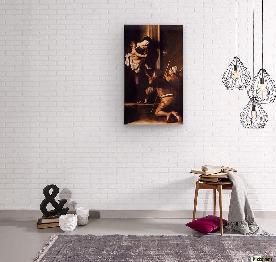 Madonna dei Pellegrini o di Loreto  Wood print