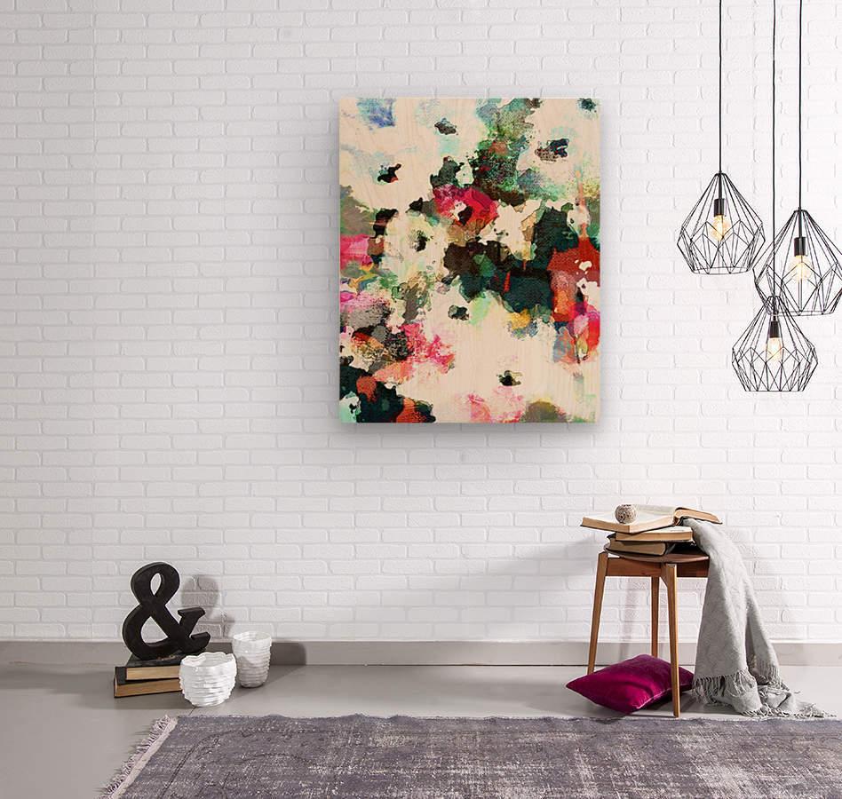 Poppies of Peace  Impression sur bois