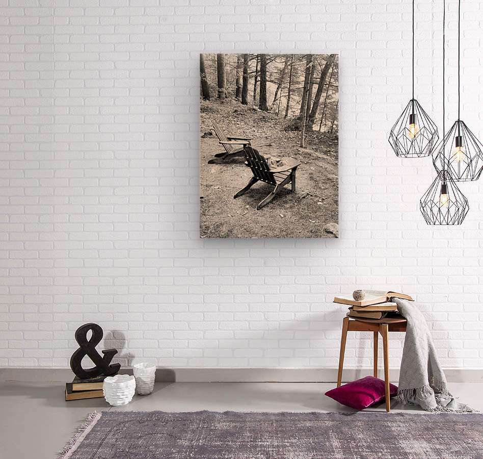 Relaxation spot   Wood print