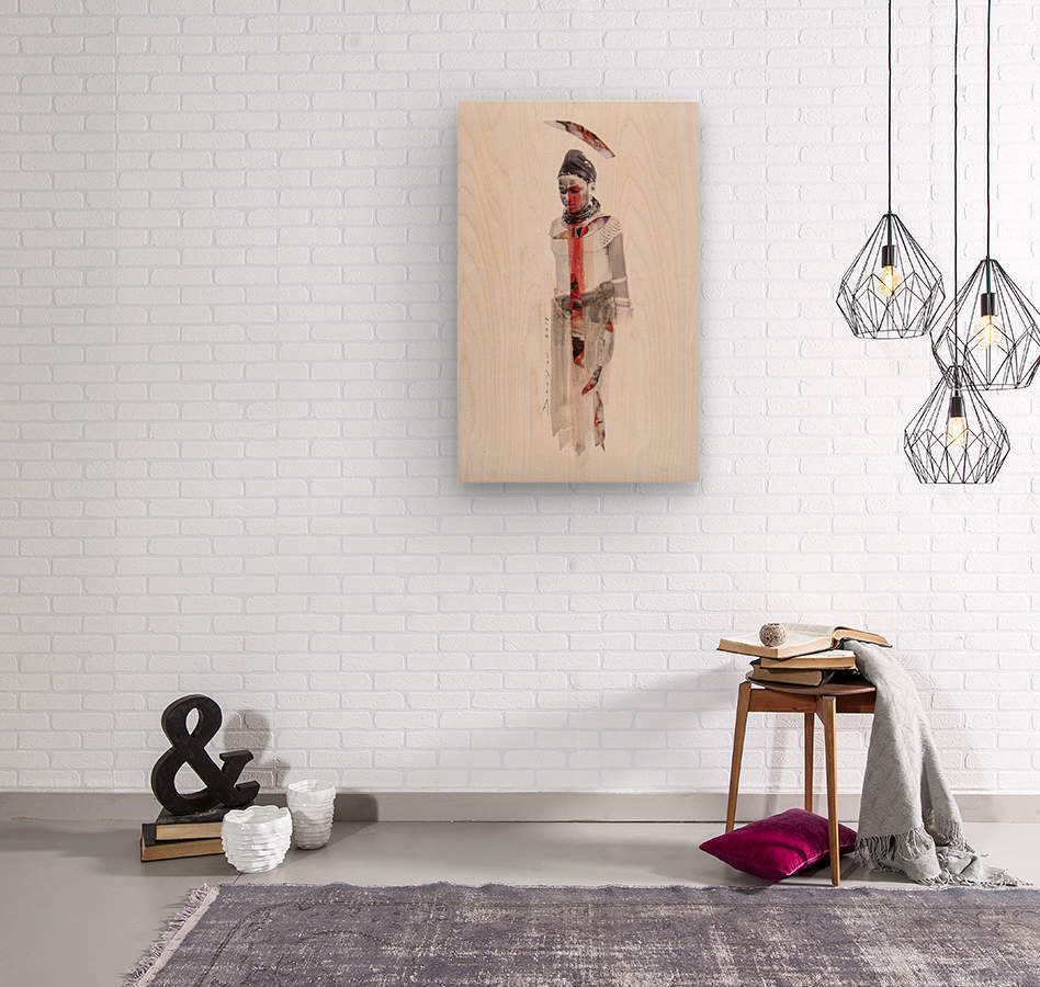 amazing grace4  Wood print