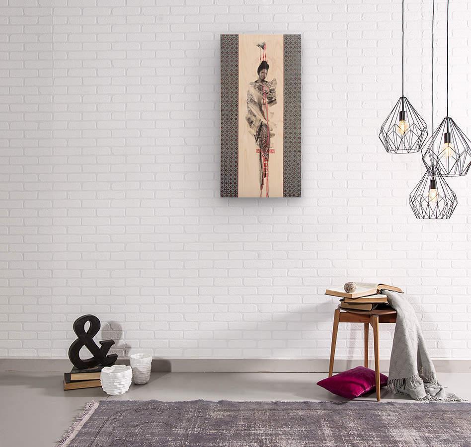 emerveillement3  Wood print