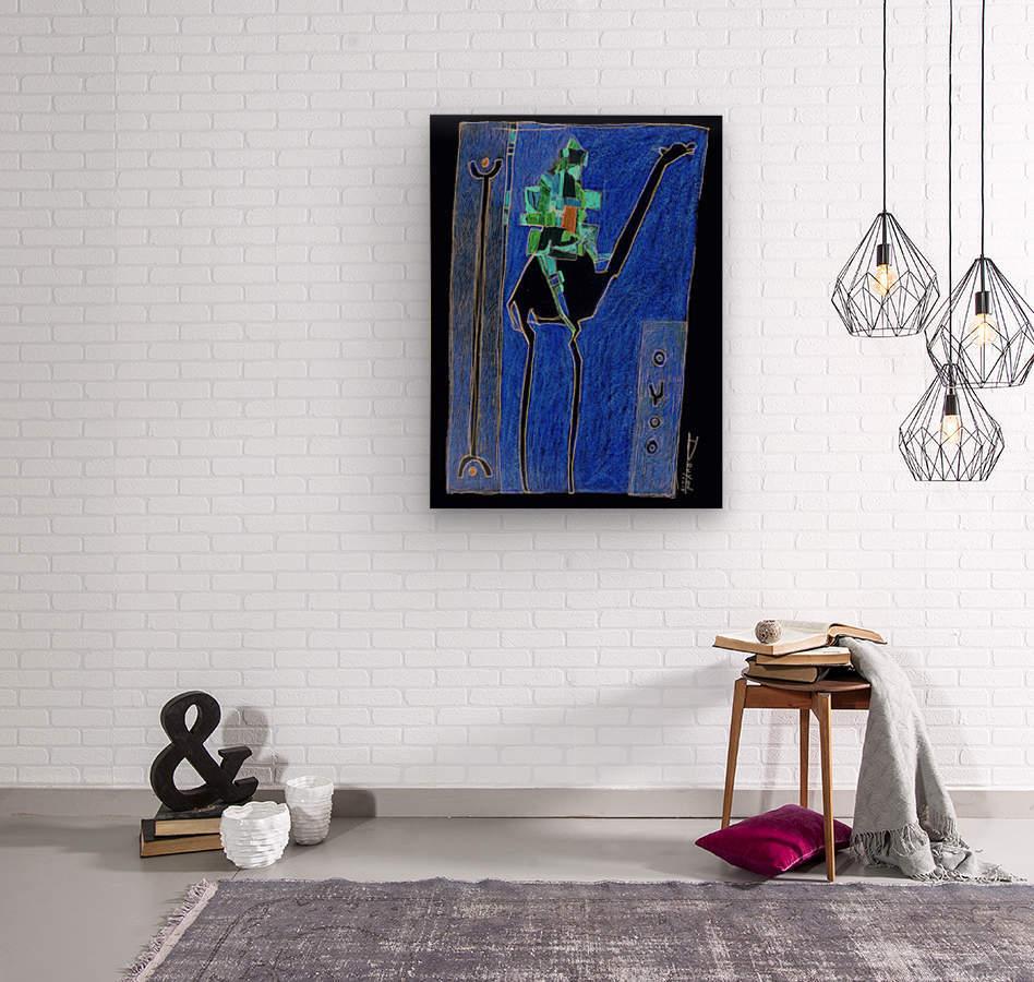 bck Kamel1  Wood print