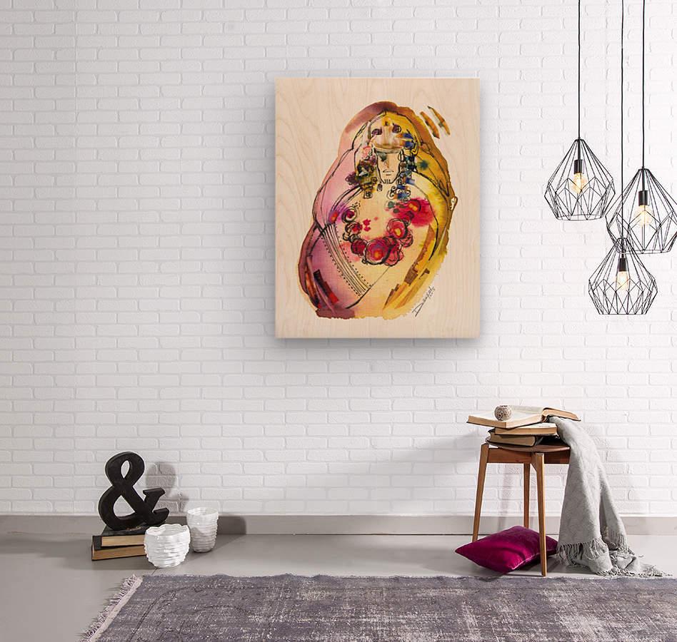 Kreol maghribia_3  Wood print