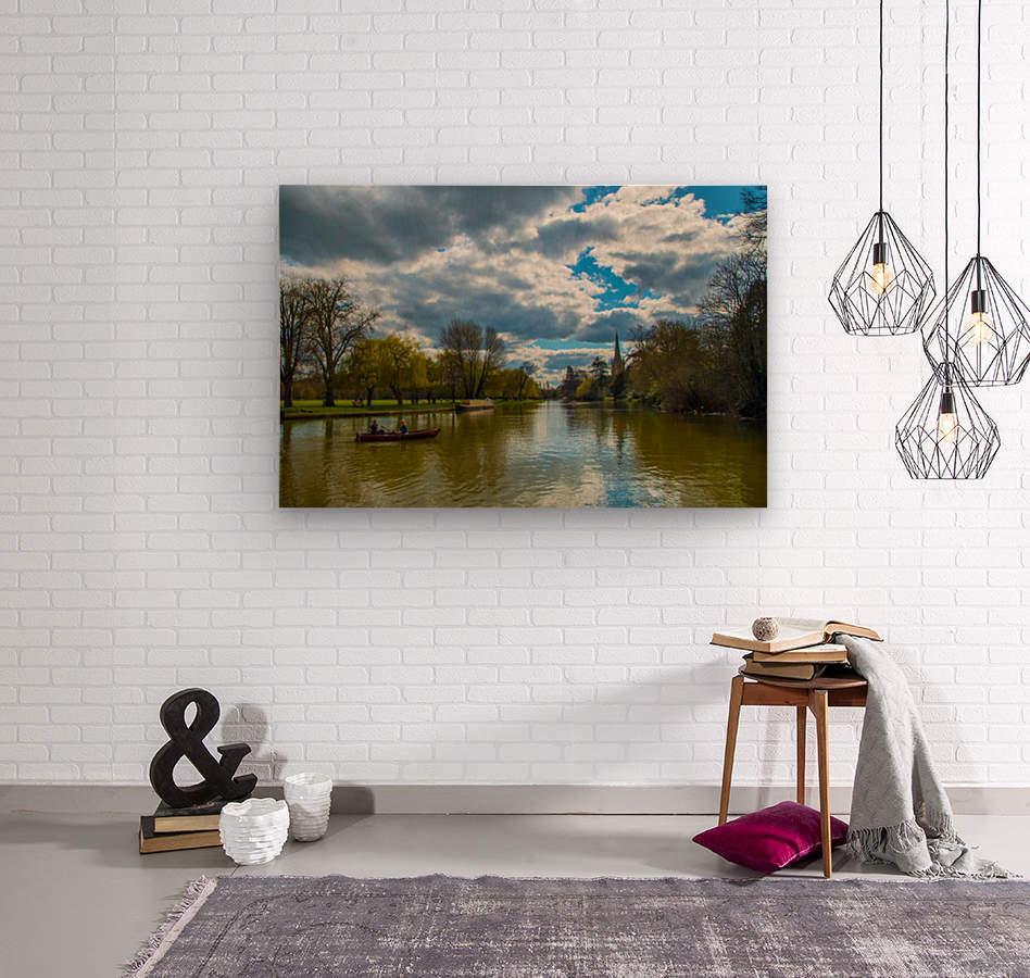 Stratford-Upon-Avon River  Wood print