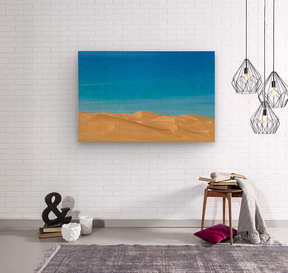 Painters dream  Wood print