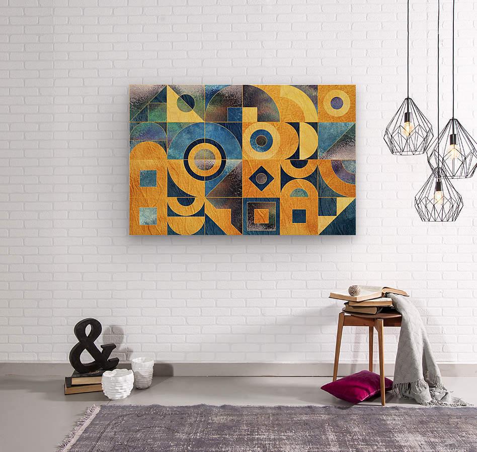 Geometric XXXXXVII  Wood print