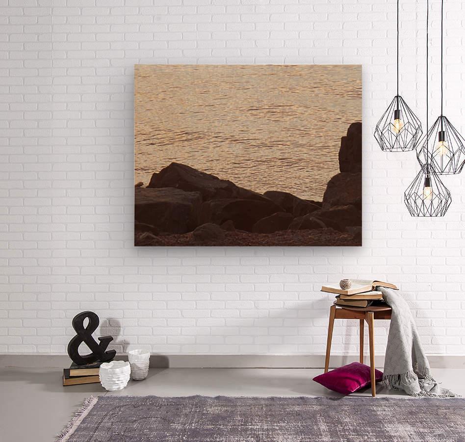 Rocky Shore 2  Wood print